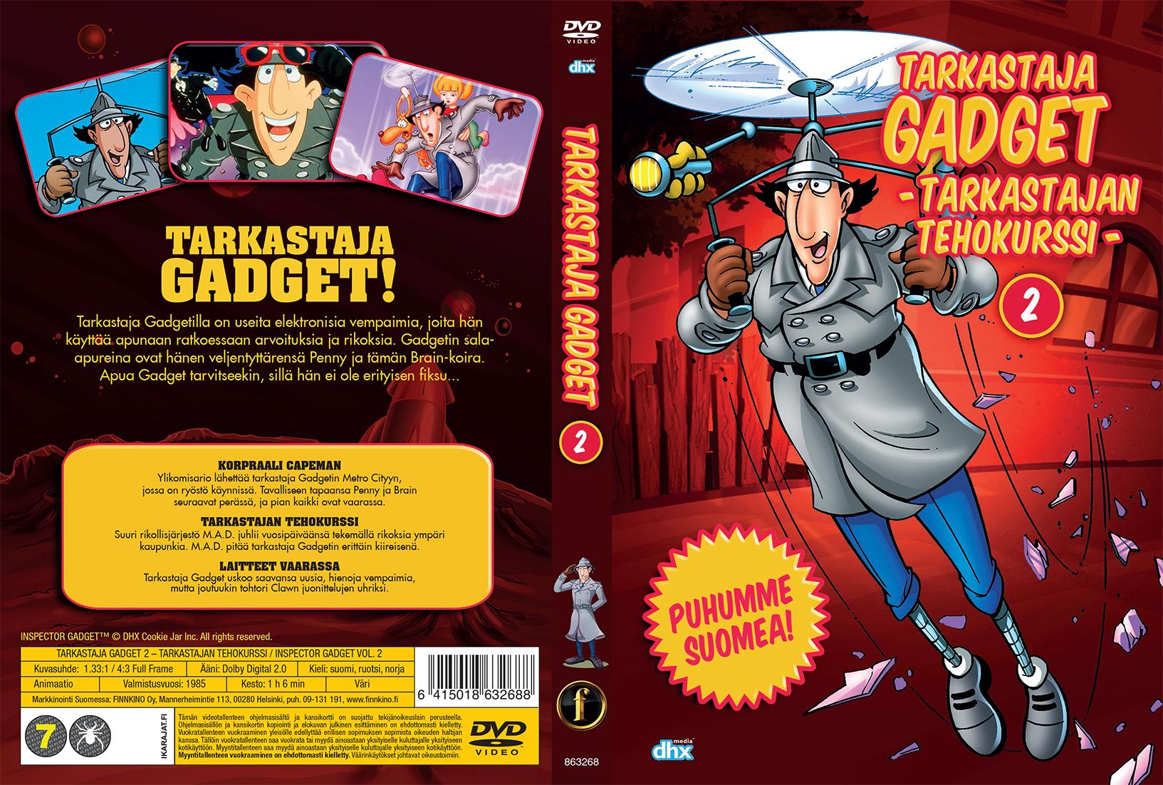 inspector gadget capeman